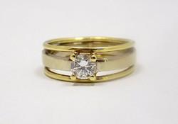 Köves arany gyűrű (ZAL-Au74909)