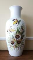 Kaiser 1972 kézzel festett váza, 55 cm