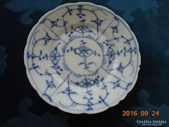 18 sz Meisseni IMMORTELLE-máz alatti kobaltkékkel festett  tányér