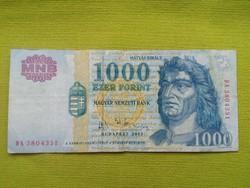 1000 Forint 2003