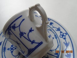 ORIGINAL SAKS BLUE Jager Eisenberg GDR Meisseni Immortelle reggeliző készlet