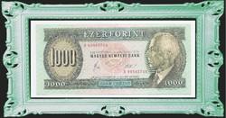 "1000 Forint 1983 Március 25. "" B "" betűvel Ritka"