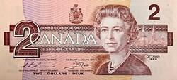 Kanada 2 Dollár 1986 UNC RITKA!!!