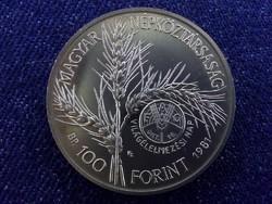 Nagyon szép FAO 100 Forint 1981