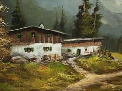 Toni Stadler (1888-1982) - Alpesi táj