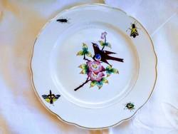 Kézifestésű Herendi tányér
