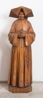 Labouré Szent Katalin nagy méretű faragott faszobra