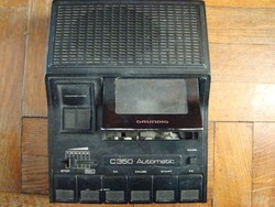 Retro Grundig kazettás magnó C350 Automatic