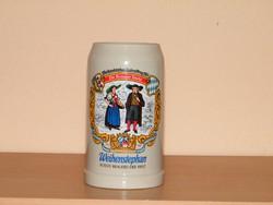 Sörös kupa , német kerámia