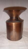 Testes fémműves iparművész zsűrizett váza
