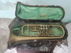 Werner Alajos antik trombita.