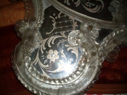 Velencei tükör muránói üveg keretben
