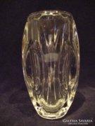 Vastag üveg váza