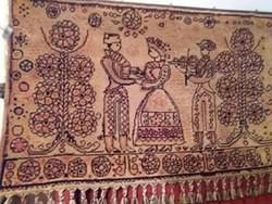 Fali perzsa szőnyeg