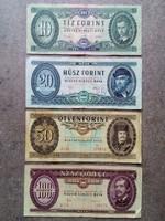 4 db forint bankjegy