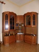 Nappali szekrénysor + sarok szekrény