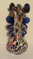 Murano , művészi üveg váza (3)