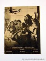 1950 március 11  /  KÉPES FIGYELŐ  /  SZÜLETÉSNAPRA RÉGI EREDETI ÚJSÁG Szs.:  8026