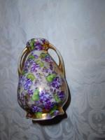 Ibolyamintával  Eichwald porcelán  váza