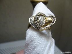 Antik 18 karátos arany  gyűrű eladó.