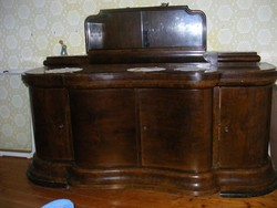 Antik Art Deco ebédlőgarnitúra (3 db-os)