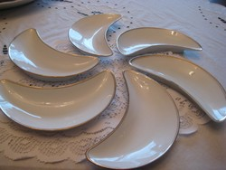 Schlaggenwald   csontos tányér  szett 6 db