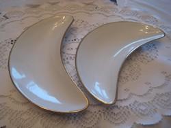 Schlaggenwald  , csontos tányér  , 2  db szép állapot
