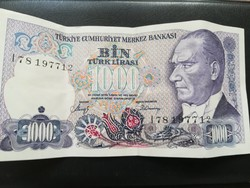 1983-AS Török 1000 Lira