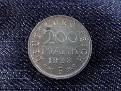 Weimari Köztársaság 200 Márka 1923 F