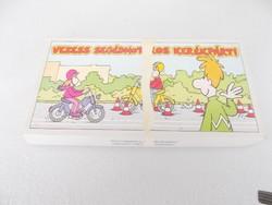 Társasjáték - Vezess segédmotoros kerékpárt