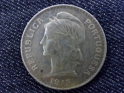 Portugália ezüst 50 Centavos 1913