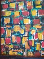 Gyarmathy szignós festmény