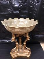 Porcelán gyümölcstál/kínáló/asztalközép