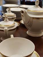 Ritka Schlaggenwald Art Deco 9 személyes étkészlet
