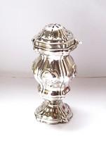 Antik bécsi ezüst cukorszóró 1858.