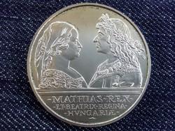 Mátyás ezüst 500 Forint 1990 /3706/