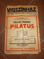 Régi vígszinház plakát 1947