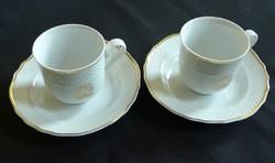 Hollóházi kávés csésze aljjal