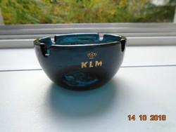 KLM  Holland Királyi Légitársaság relikvia hamutartó