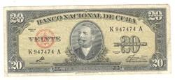 20 peso 1960 Kuba