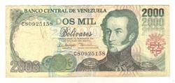 2000 bolivar 1998 Venezuela