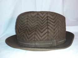 Vintage Cseszlovák férfi kalap