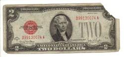 2 dollár 1928 USA II.