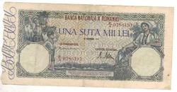 100000 lei 1946 Románia I.