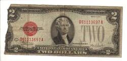 2 dollár 1928 USA I.