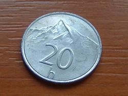 SZLOVÁKIA 20 HALERU 1993