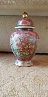 Antik Satsuma váza,urna! (26cm)