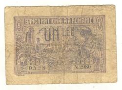 1 leu 1915 Románia