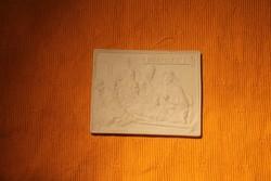 Bikszvit porcelán( medfilex ) Mérete:9.5 x12 cm.