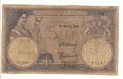 5 lei 1920 Románia II.
